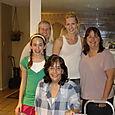 Annie, Mary, Sherryl, Erin, and Nadine